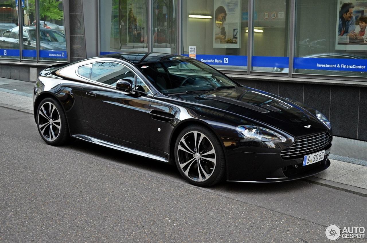 Aston Martin V12 Vantage Carbon Black Edition - 15 April ...