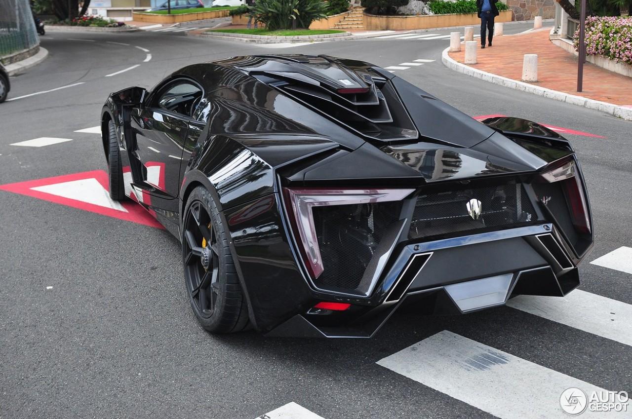 Black Lykan Hypersport Arrives in the USA  GTspirit