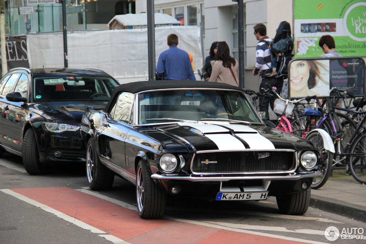 Ford Mustang Shelby G T 500 Cabriolet 19 April 2014