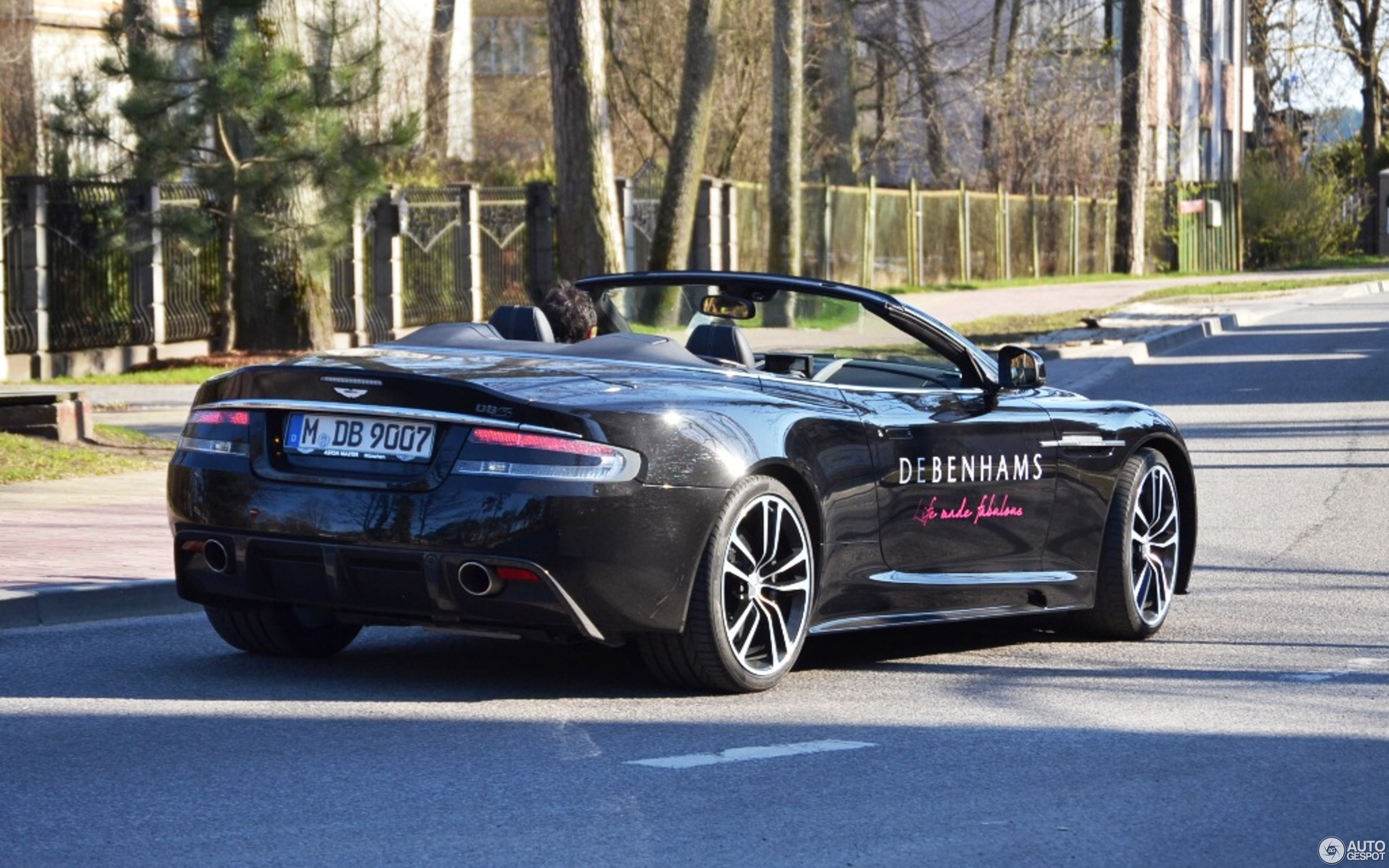 Aston Martin DBS Volante April Autogespot - How many aston martin dbs were made