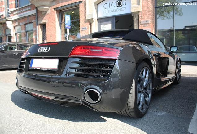 Audi R8 V10 Spyder 2013