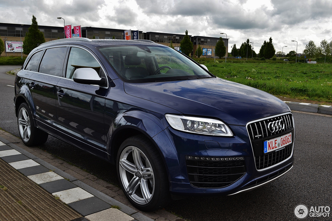 audi q7 v12 tdi 27 april 2014 autogespot. Black Bedroom Furniture Sets. Home Design Ideas