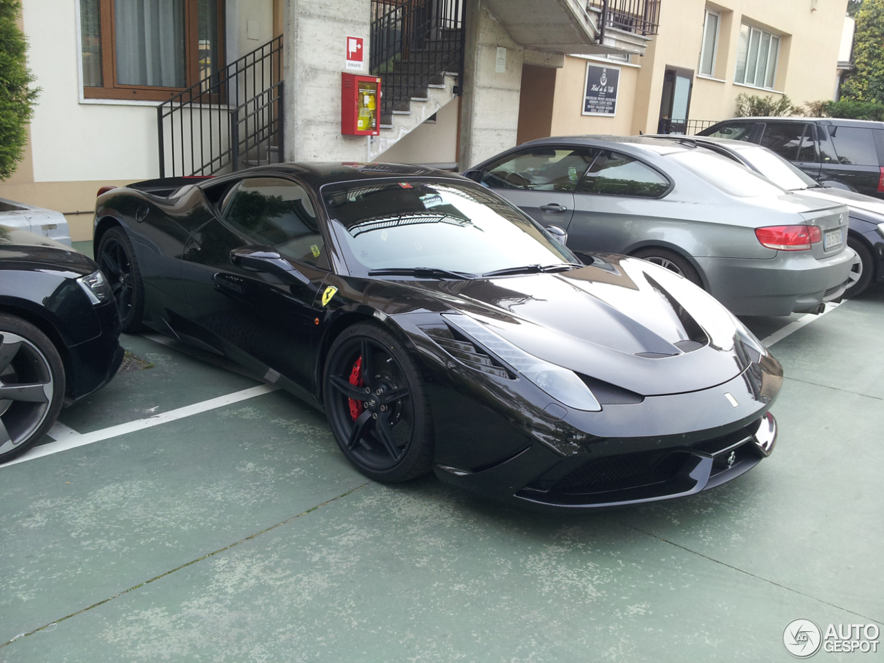 Ferrari 458 Speciale 27 April 2014 Autogespot