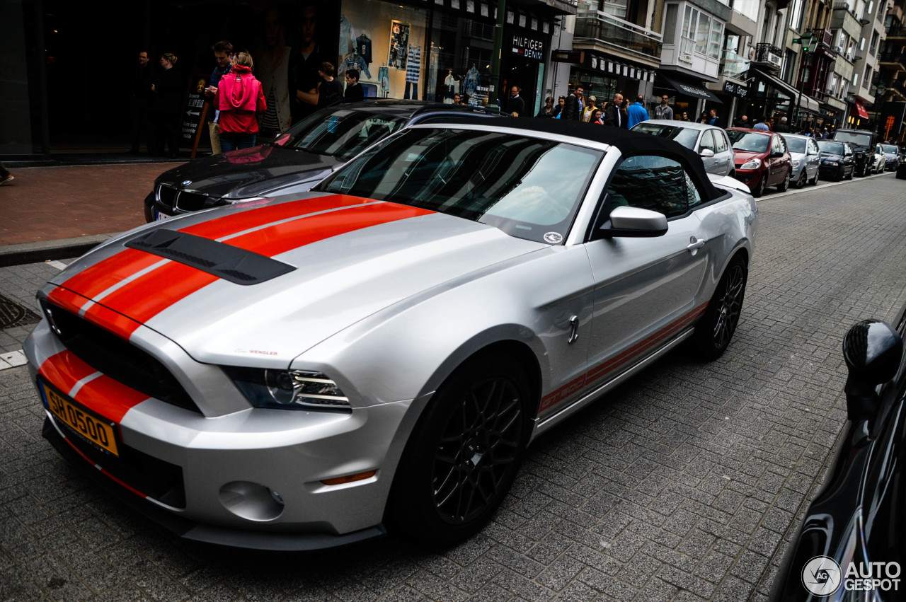 ford mustang shelby gt500 convertible 2014 27 april 2014 autogespot. Black Bedroom Furniture Sets. Home Design Ideas