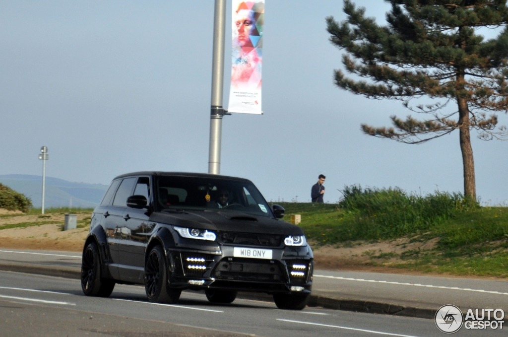 Land Rover Range Rover Sport Lumma CLR RS 6