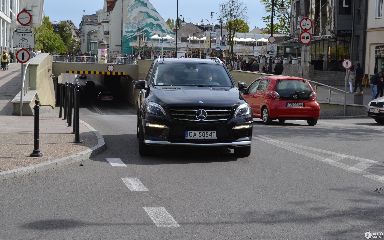 Mercedes Benz ML 63 AMG W166 6 Mai 2014 Autogespot