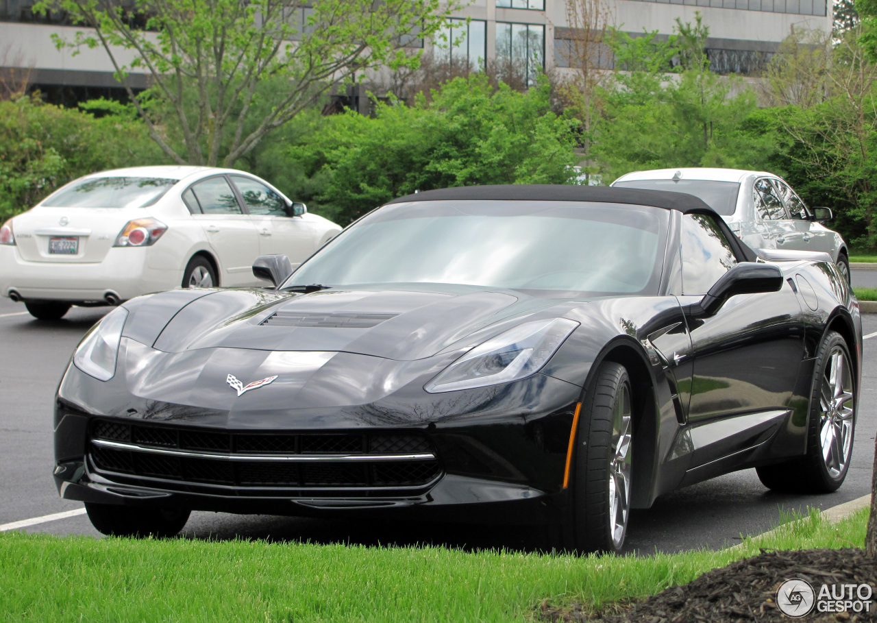 Chevrolet Corvette C7 Stingray Convertible 7 May 2014
