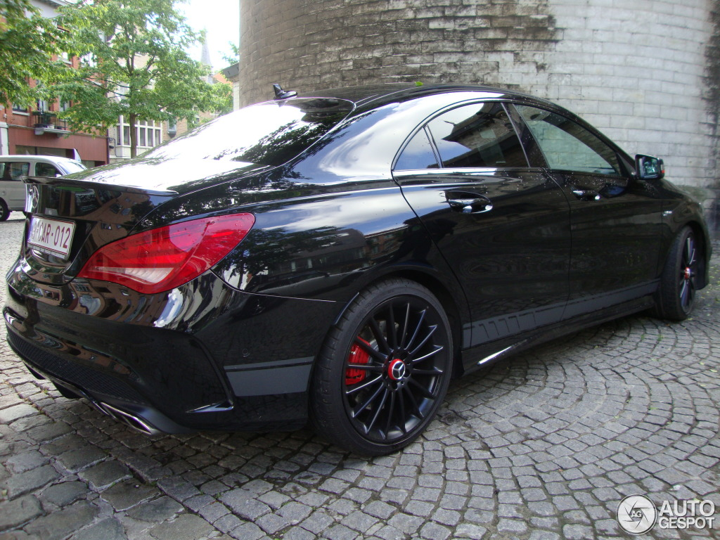 Mercedes benz cla 45 amg edition 1 c117 7 may 2014 for Mercedes benz c45 amg