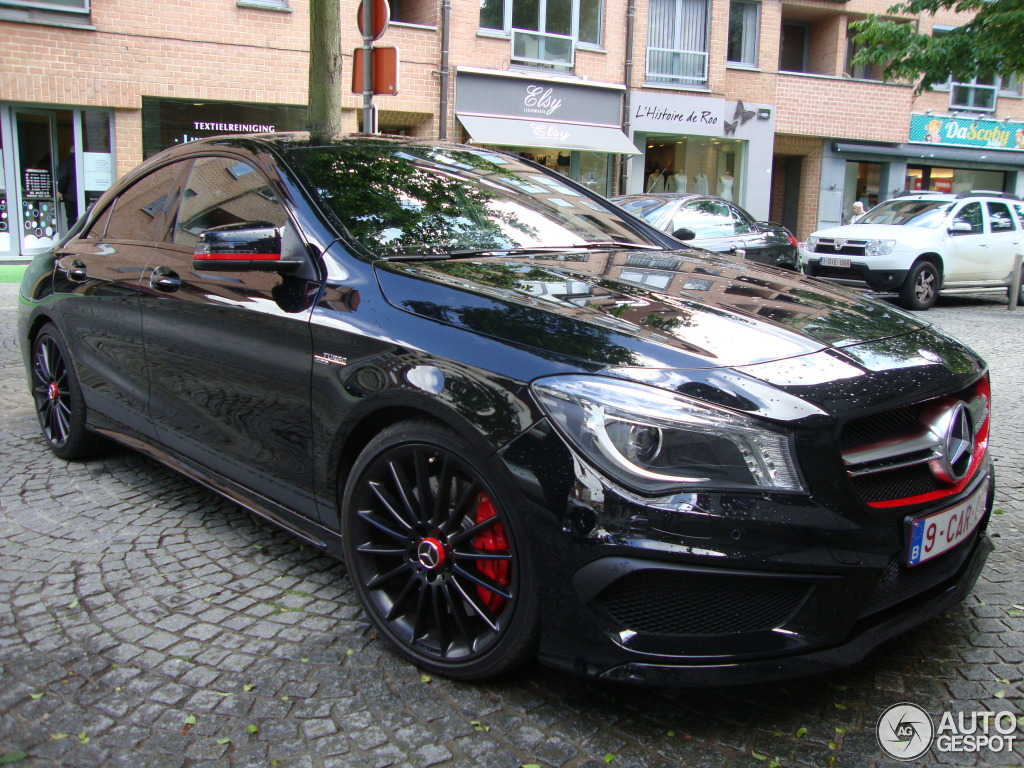Mercedes Benz Cla 45 Amg Edition 1 C117 7 May 2014