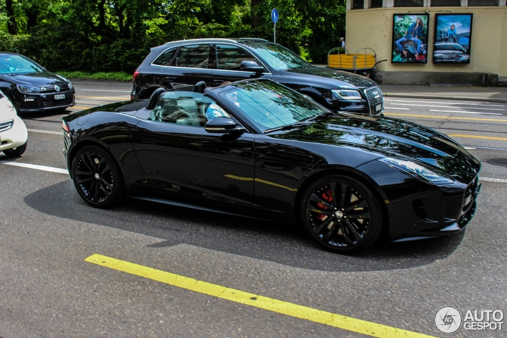 jaguar f type s v8 convertible 11 may 2014 autogespot. Black Bedroom Furniture Sets. Home Design Ideas
