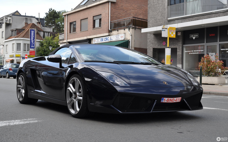 Lamborghini Gallardo Lp560 4 Spyder 11 May 2014 Autogespot