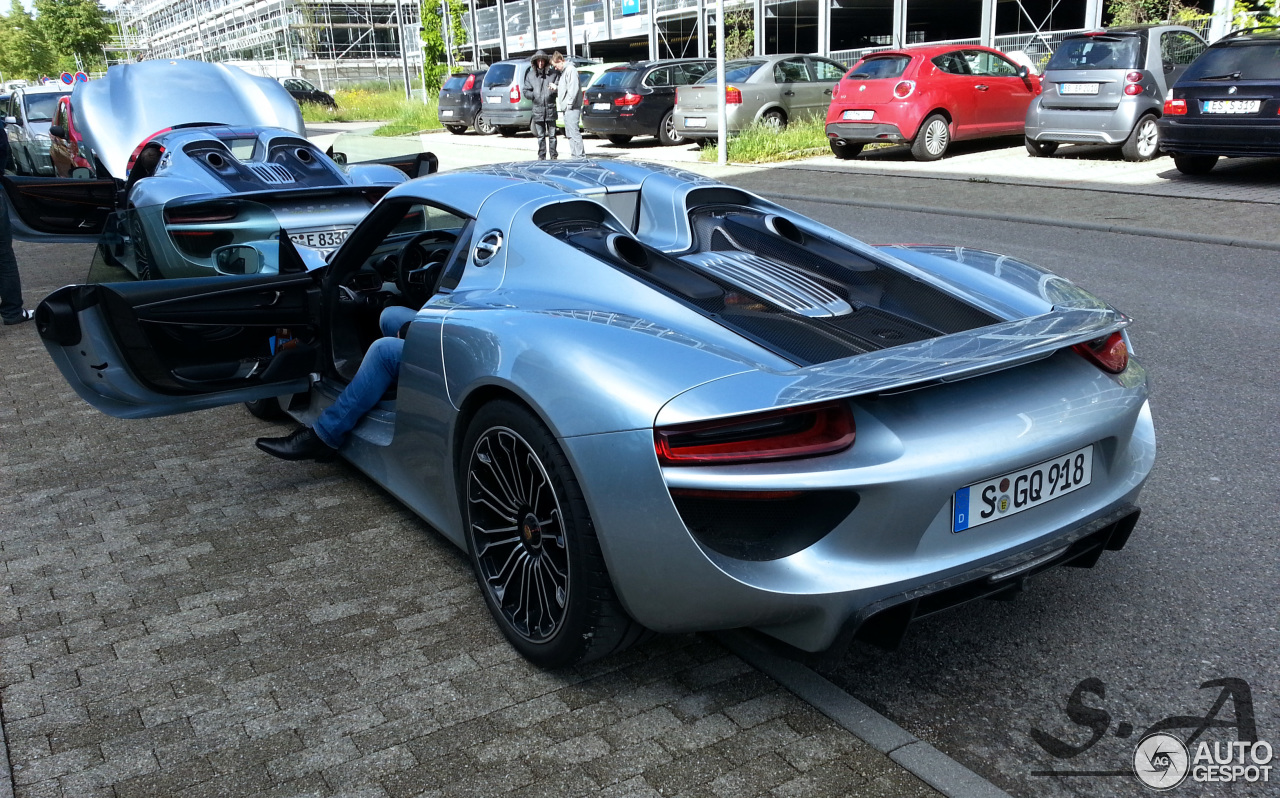 porsche 918 spyder 14 mei 2014 autogespot. Black Bedroom Furniture Sets. Home Design Ideas