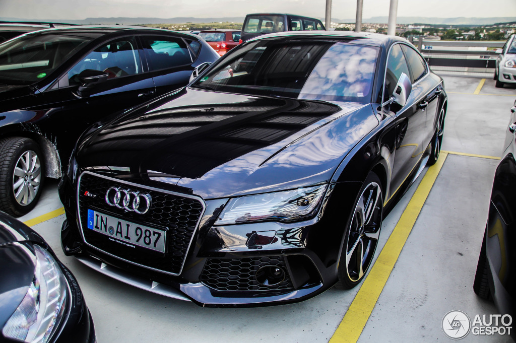 audi rs7 sportback 20 mai 2014 autogespot. Black Bedroom Furniture Sets. Home Design Ideas