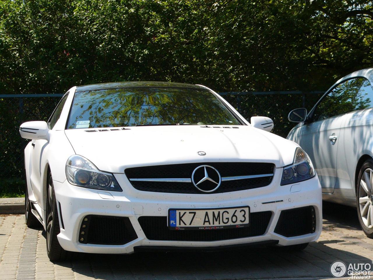 Mercedes benz wald sl 63 amg r230 black bison edition 22 for Mercedes benz black edition