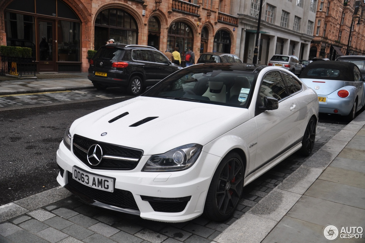 Mercedes Benz C 63 Amg Coup 233 Edition 507 26 Mai 2014