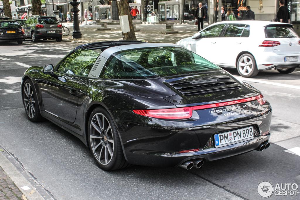 Porsche 991 Targa 4s 2 June 2014 Autogespot