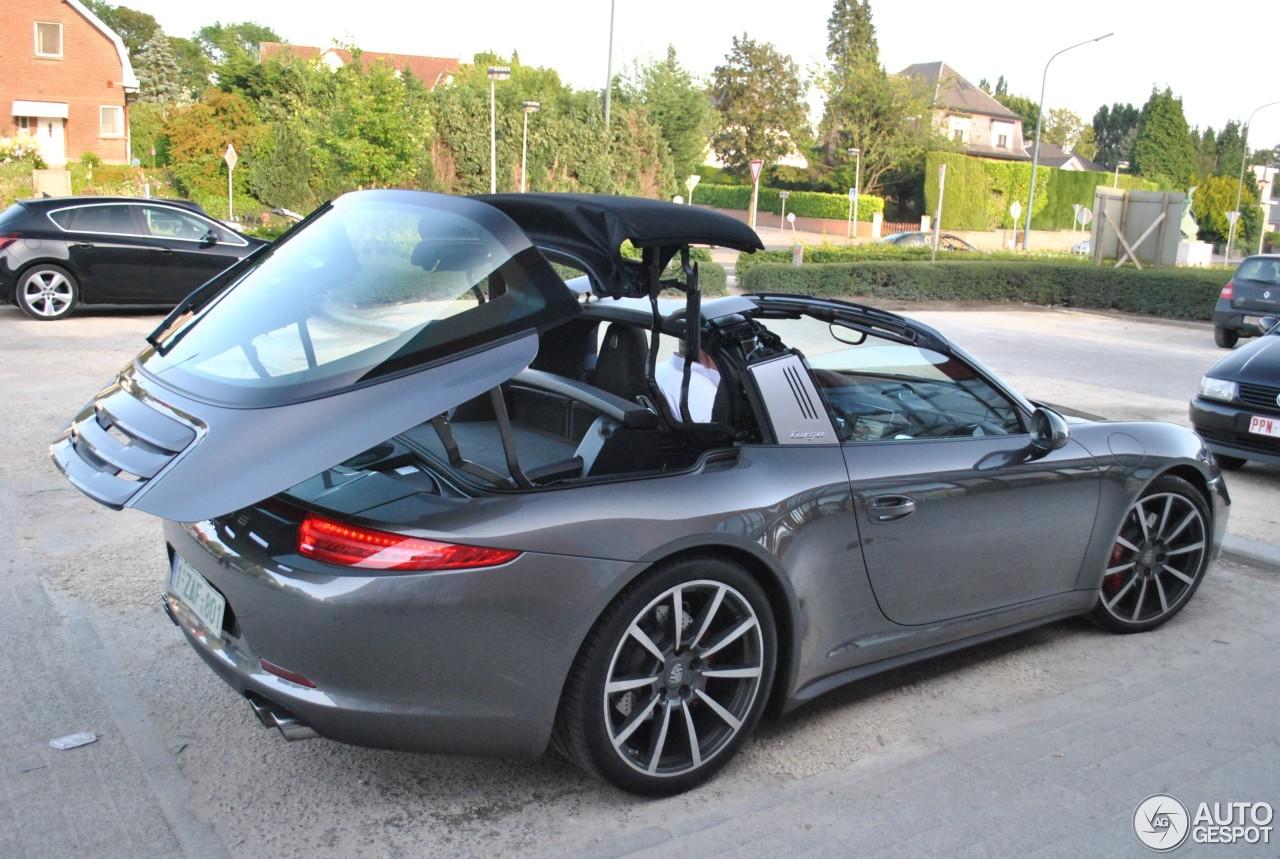 Porsche 991 Targa 4s 7 Juin 2014 Autogespot