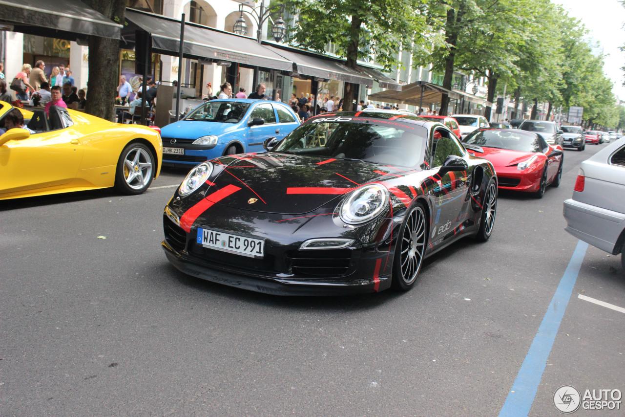 Porsche 991 Turbo S Edo Competition 7 June 2014 Autogespot
