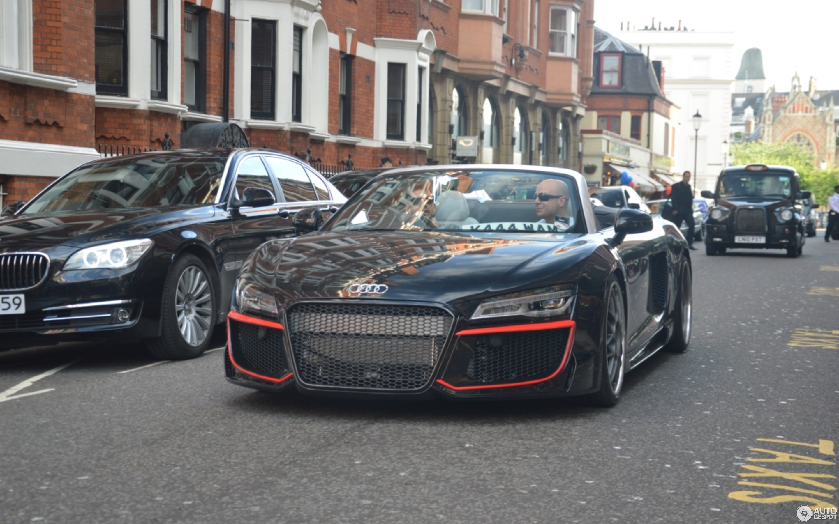 audi r8 v10 spyder regula tuning 11 june 2014 autogespot. Black Bedroom Furniture Sets. Home Design Ideas