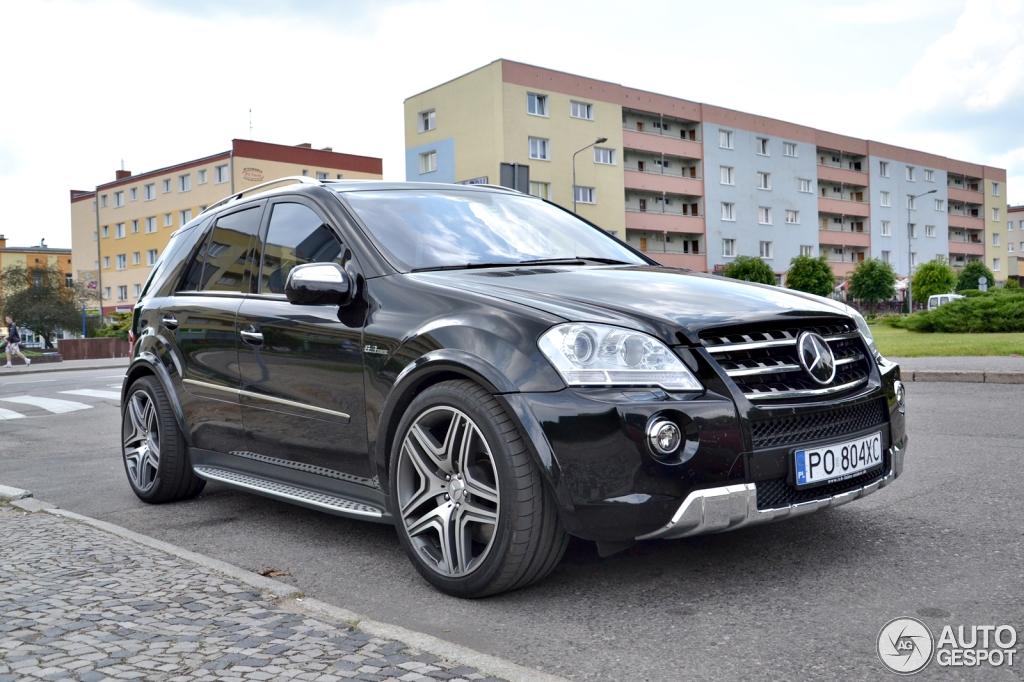 Mercedes benz ml 63 amg w164 2009 16 june 2014 autogespot for Mercedes benz w164