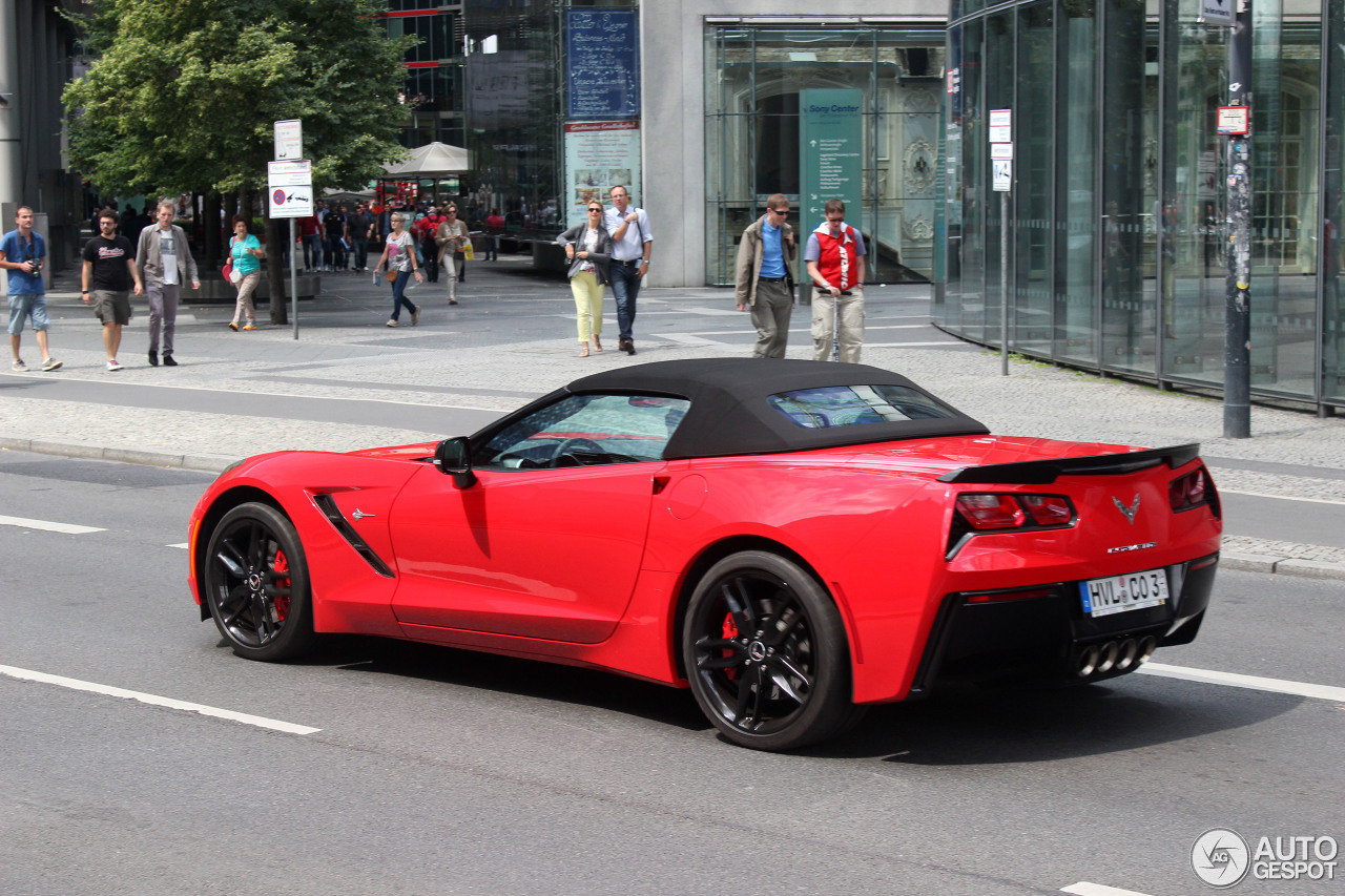 Chevrolet Corvette C7 Stingray Convertible 27 June 2014
