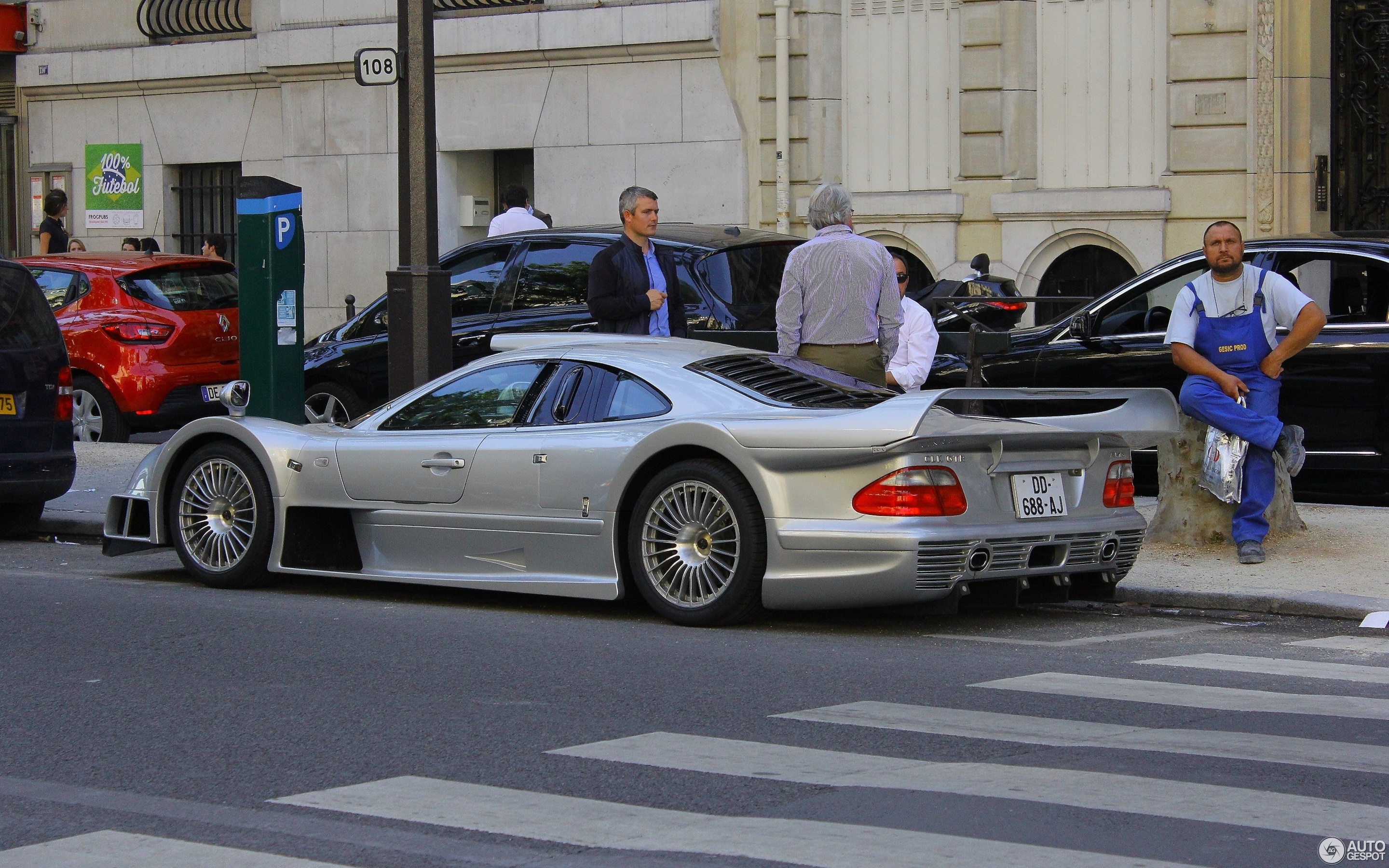 Superb Mercedes Benz CLK GTR AMG