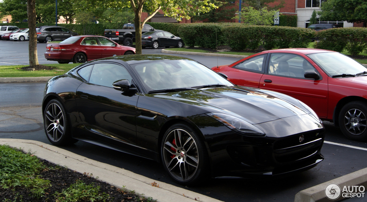Jaguar f type r coup 9 july 2014 autogespot - Jaguar f type r coupe prix ...