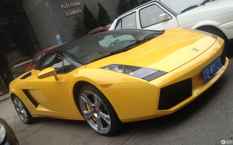 Lamborghini Gallardo Spyder 9 July 2014 Autogespot
