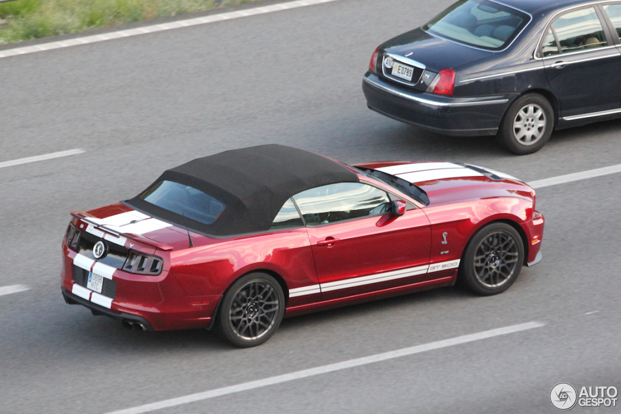 Ford Mustang Shelby GT500 Convertible 2014 - 14 July 2014 - Autogespot