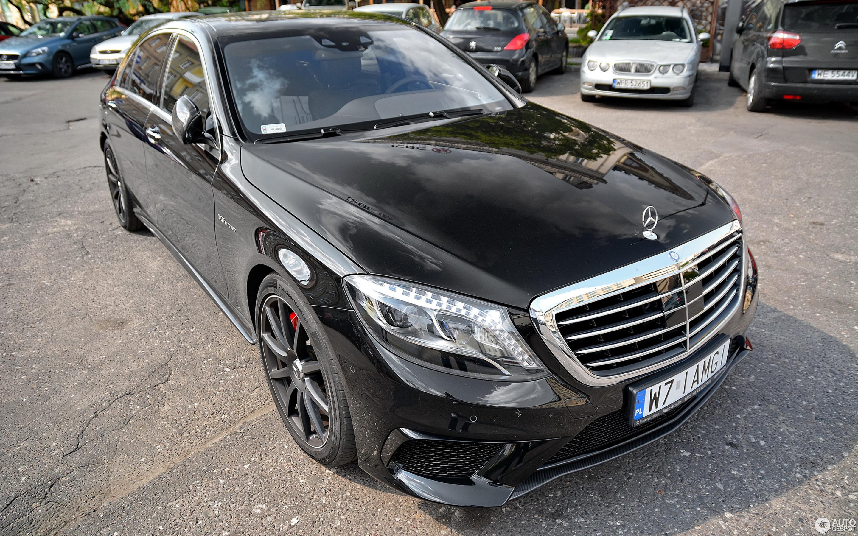 Mercedes Benz S 63 AMG V222 21 July 2014 Autogespot