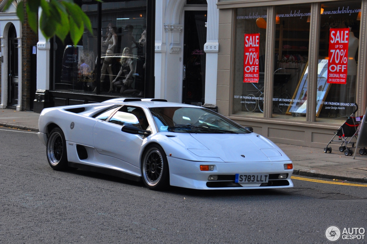 Lamborghini Diablo Sv 25 July 2014 Autogespot