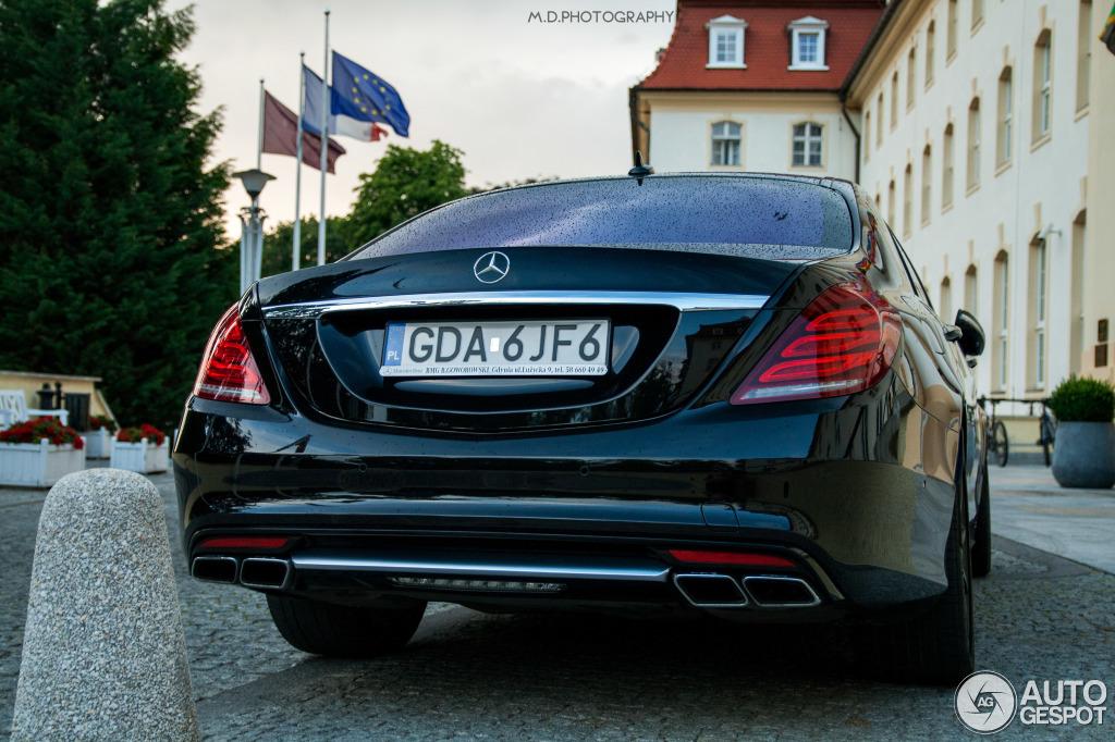 Mercedes-Benz S 63 AMG V222 2
