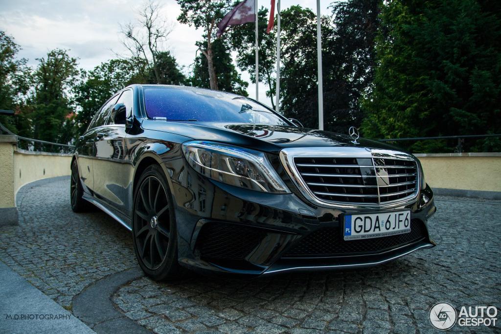 Mercedes-Benz S 63 AMG V222 8