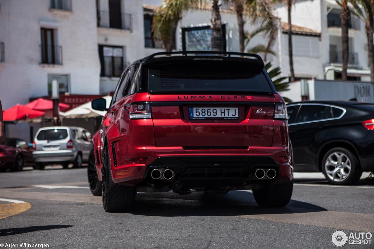 Land Rover Range Rover Sport Lumma Clr Rs 27 July 2014