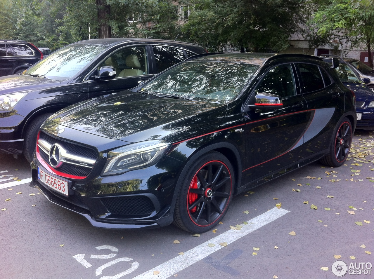 Mercedes benz gla 45 amg edition 1 27 juli 2014 autogespot for Mercedes benz gla for sale