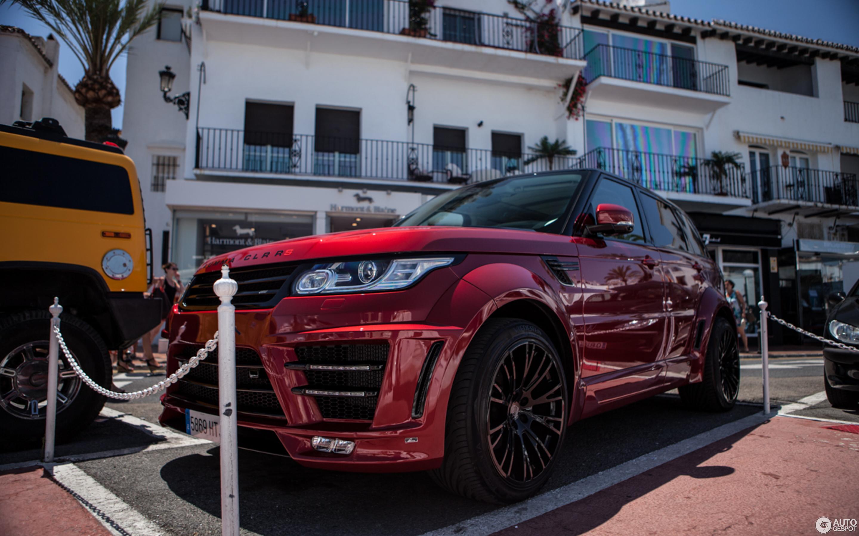 Land Rover Range Rover Sport Lumma Clr Rs 27 July 2014 Autogespot
