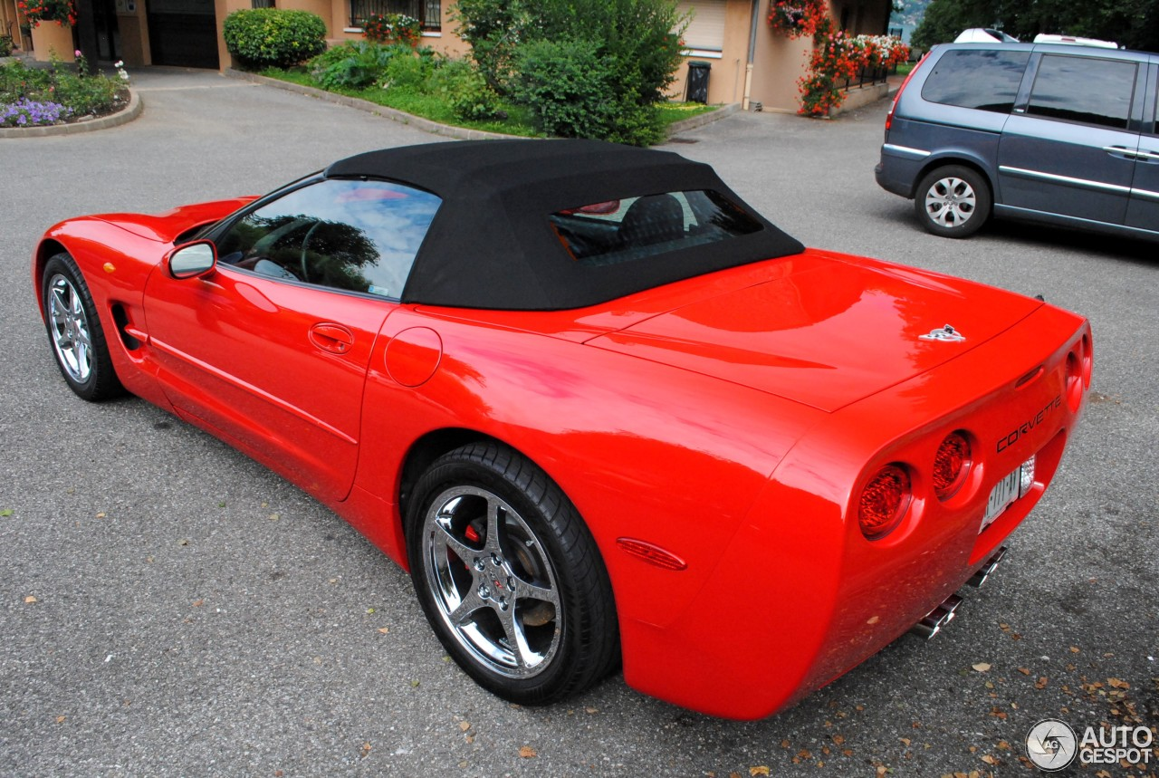 Chevrolet Corvette C5 Convertible 29 July 2014 Autogespot