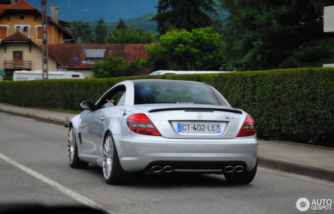 Mercedes benz slk 55 amg r171 black series 29 juli 2014 for Mercedes benz slk series