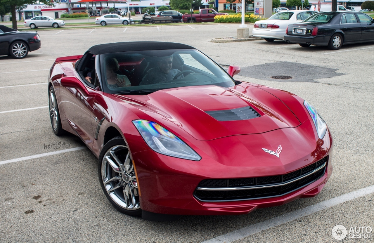 Chevrolet Corvette C7 Stingray Convertible - 30 July 2014 - Autogespot