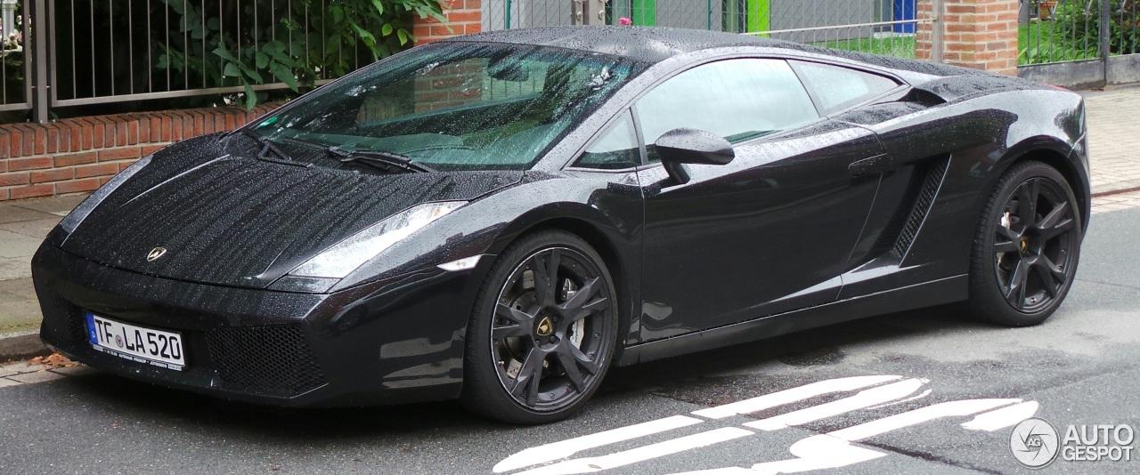 Lamborghini Gallardo Nera 30 July 2014 Autogespot