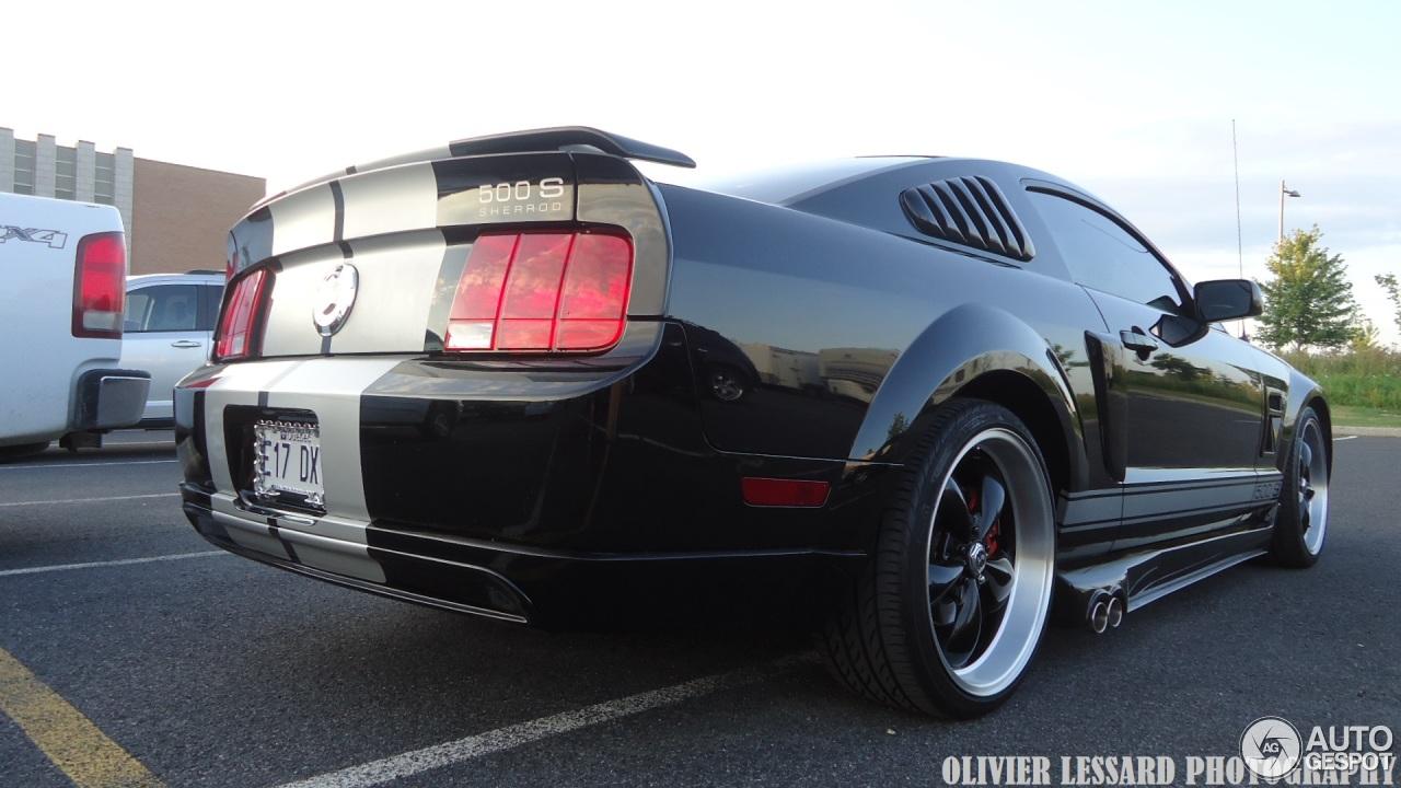 Ford Sherrod Mustang Gt 500 S 1 August 2014 Autogespot