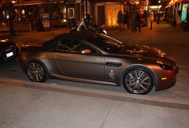 Aston Martin V8 Vantage Roadster Centenary Edition