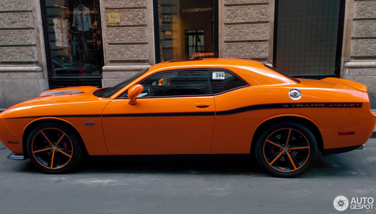Dodge Challenger Srt 8 392 Yellow Jacket 2 August 2014 Autogespot