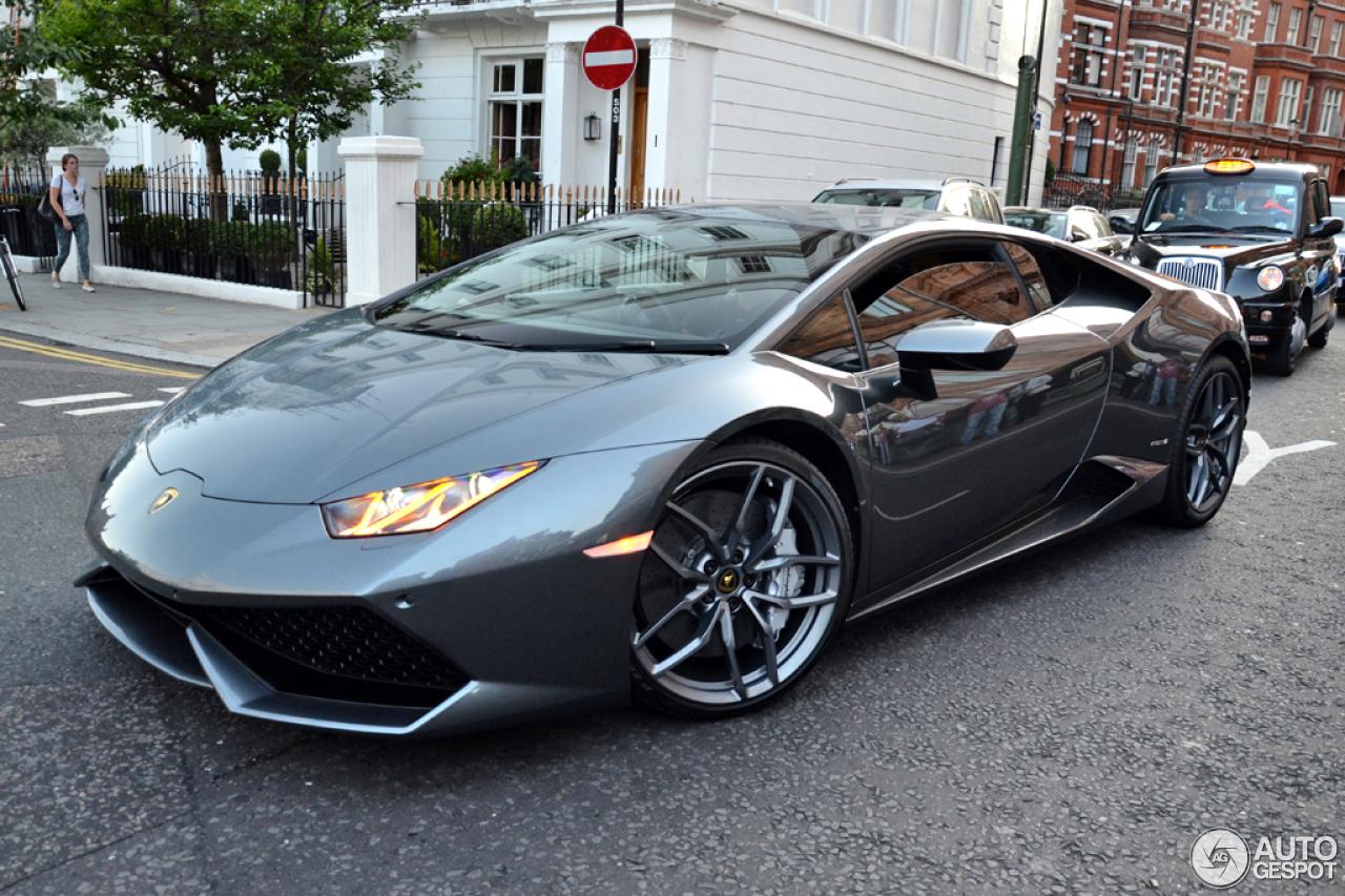 1 i lamborghini huracn lp610 4 1 - Lamborghini Huracan Grey
