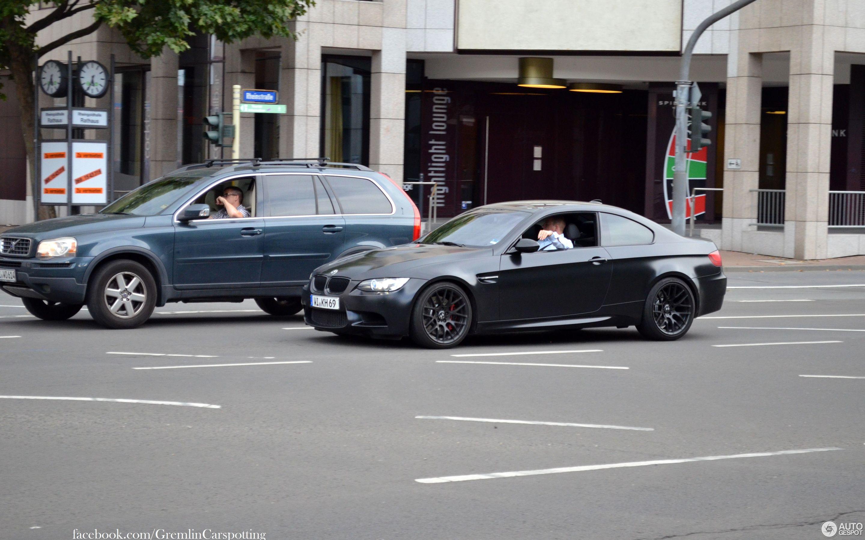 BMW M3 E92 Coupé Frozen Black Edition - 6 August 2014 ...