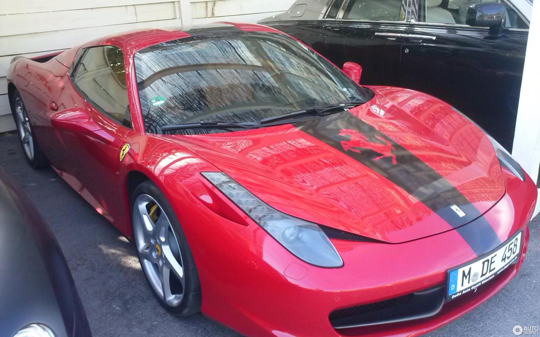Ferrari 458 Spider 7 August 2014 Autogespot