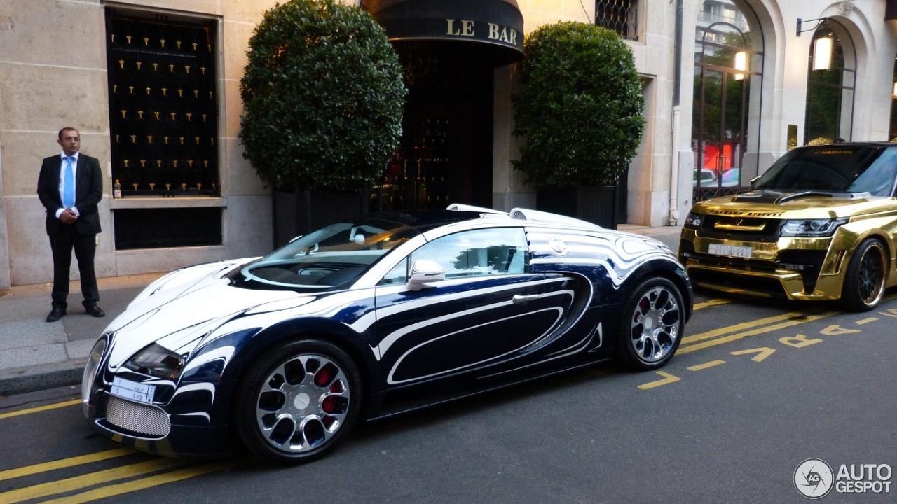 Bugatti Veyron 16 4 Grand Sport L Or Blanc 8 August 2014