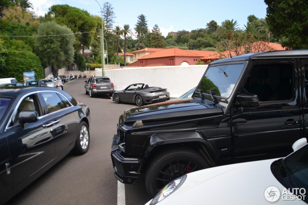 Mercedes benz brabus g 63 amg b63 620 8 august 2014 for Garage mercedes cannes