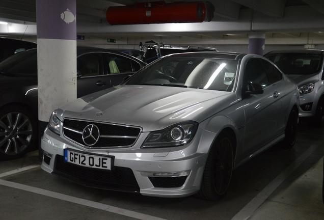 Mercedes-Benz C 63 AMG Coupé Edition 125