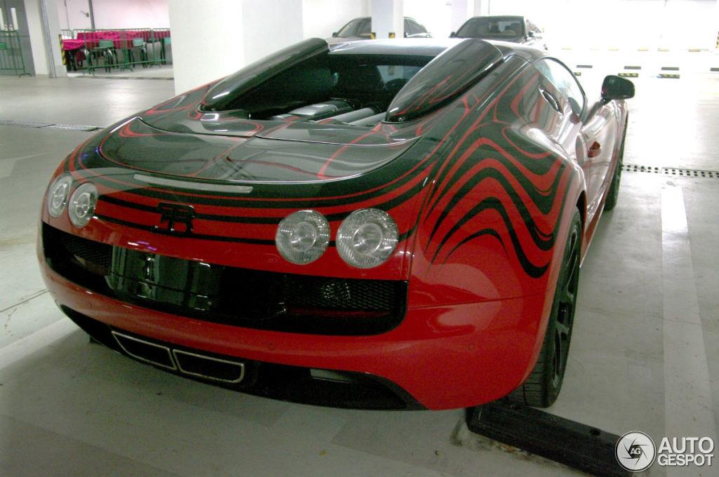 bugatti veyron 16 4 grand sport vitesse l 39 or rouge 10 august 2014 aut. Black Bedroom Furniture Sets. Home Design Ideas